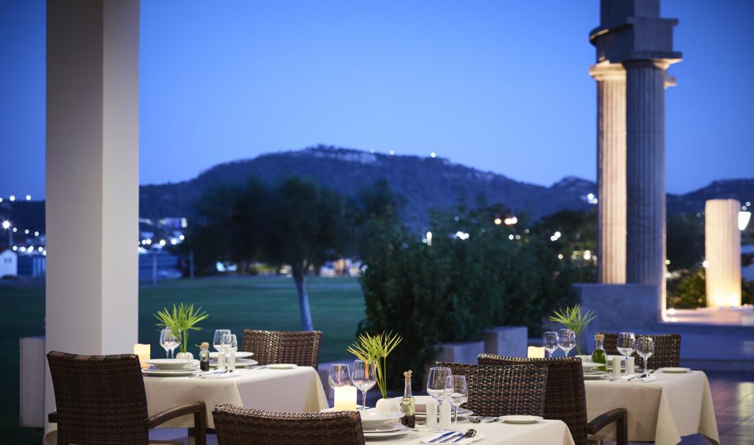 A la carte dining in Rhodes