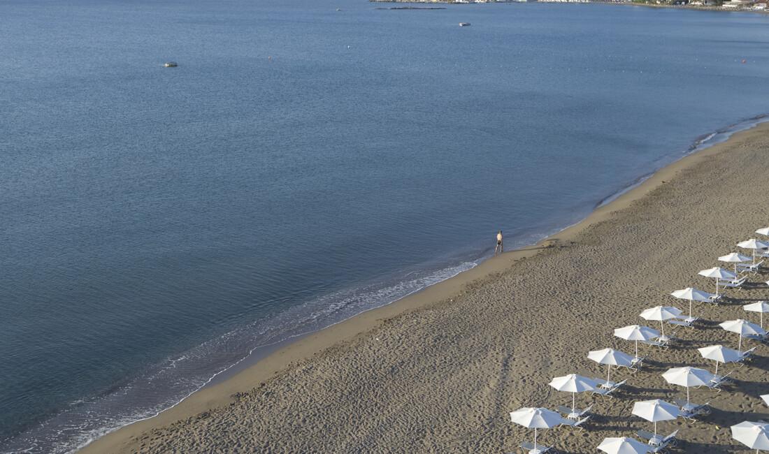 A 5 star hotel in Rhodes on the beach