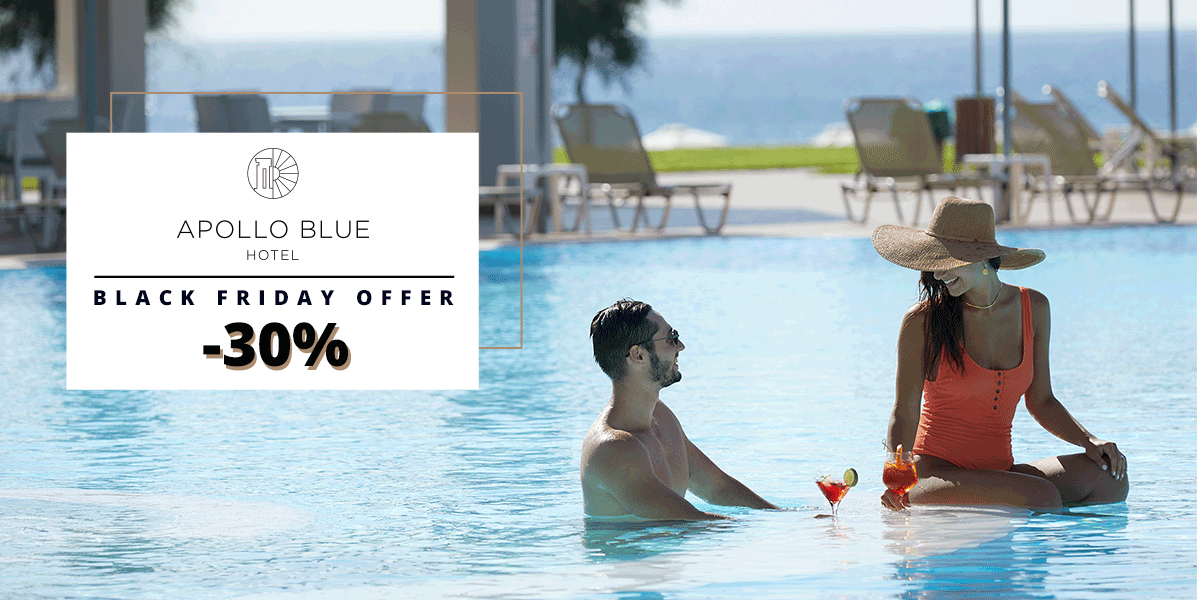 Black Friday Offer of Apollo Blue hotel in Rhodes